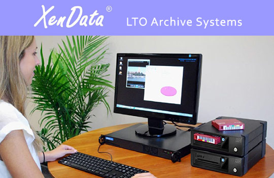 LTO 6 Archive System