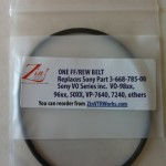 ZIN-ZinPart-Z-3-668-785-00, ONE FF/REW BELT Replaces Sony Part 3-668-785-00