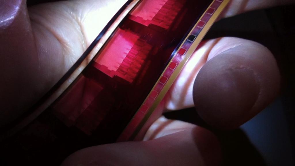 """35mm """"Fox Print"""" for Cinemascope."""