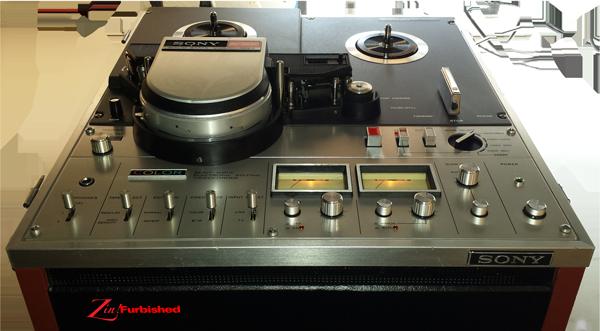 "Sony AV-8650 Color 1/2"" EIAJ reel to reel deck"