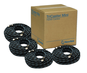 TriCaster Mini-HDMI Cable Bundle