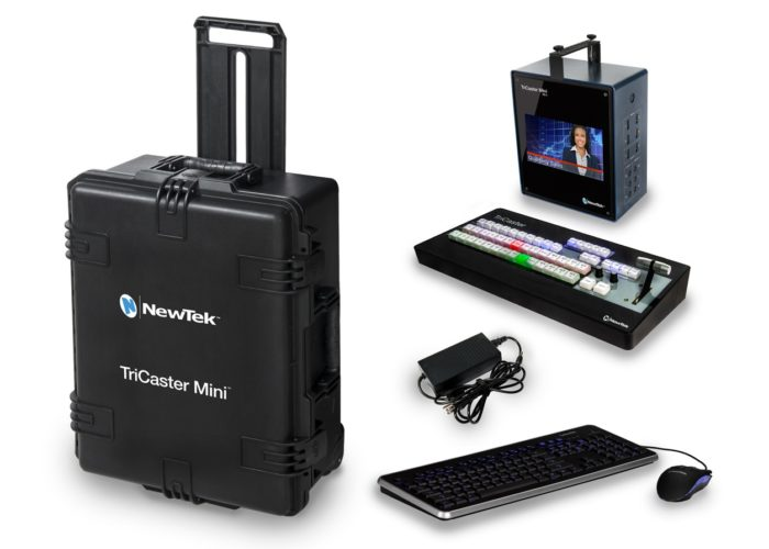 NewTek TriCaster™ Mini Travel Bundle