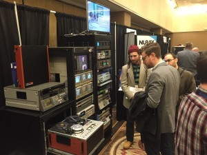 Zinfurbished Sony AV-8650 Color EIAJ reel to reel VTR at AMIA 2015.