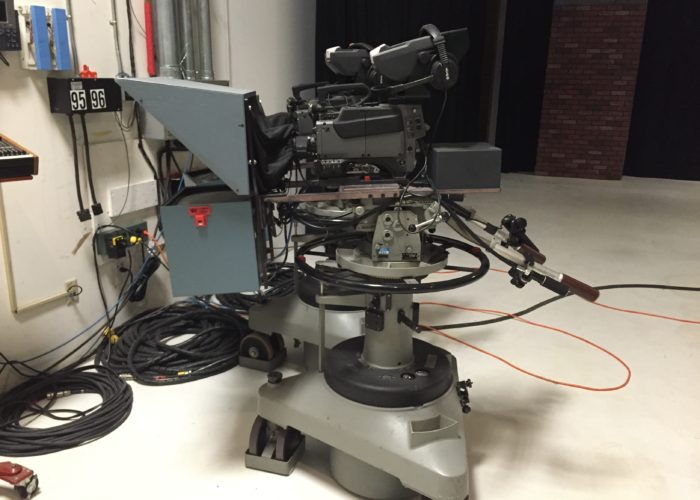 Sony BVP-570 Trial cameras, Vinten Tern pedestals/Mark IIIA heads