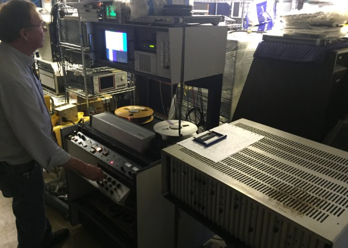 Zinfurbishing Ampex AVR-2 Stereo Quad VTR.